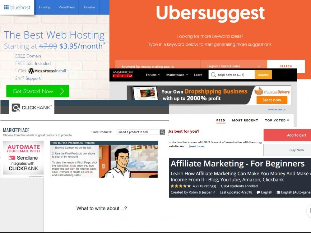 affiliate marketing necessary tools
